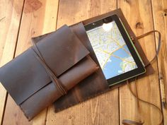 Sale #Ipad #leather #case by Aixa on Etsy. $59.95, via Etsy. #gadget