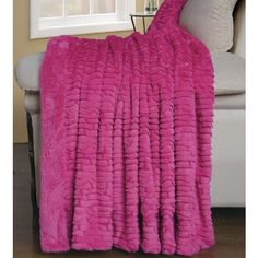 "BNF Home Colleen Air Brushed Faux Fur Bed Couch Cover Throw Blanket, Aurora Pink (60x70)"" BNF Home http://www.amazon.com/dp/B00H8Z64OQ/ref=cm_sw_r_pi_dp_xs4gub0MRY8AJ"