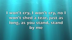 Stand By Me - Bootstraps (lyrics)