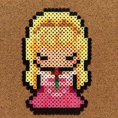 Princess Aurora (Sleeping Beauty) perler beads by tsubasa.yamashita