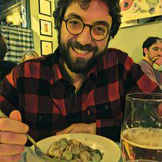 Gnocchi alla carrettiera (pangrattato tostato e speck) e birra a @IlPastoGiusto. La gnoccheria per eccellenza.
