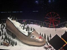 Selfridges Christmas Window 2013 - How totally bizarre!