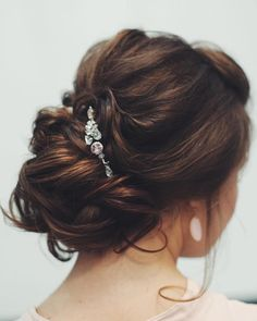 40 Most Beautiful And Stunning Inspirational Updo Hairstyles For Prom And Wedding - Page 7 of 39 - Marble Kim Design Unique Hairstyles, Hairstyles With Bangs, Wedding Hairstyles, Hot Hair Styles, Medium Hair Styles, Bangs With Medium Hair, Hairstyle Look, Hairstyle Ideas, Hair Patterns