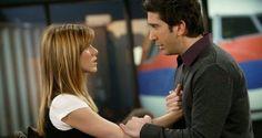 """Ross & Rachel, em """"Friends"""""""