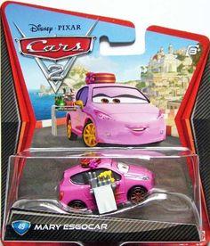 Disney Pixar Cars Exclusive 1:55 Diecast Mary Esgocar By Mattel Disney http://www.amazon.com/dp/B009TU2JII/ref=cm_sw_r_pi_dp_Tp10wb1XBNBHY
