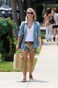 Julianne Hough and a friend get lunch in Los Angeles on July 19, 2013.