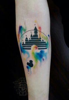 Disney - watercolor