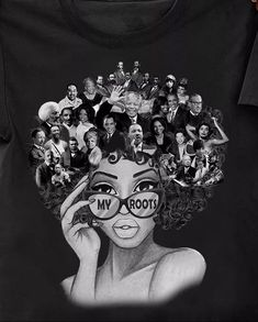 Black History Moment x D.Rae – The Pretty Mom Hustler Black Love Art, Black Girl Art, Art Girl, Black Girl Magic, Black Is Beautiful, Color Black, Black Art Painting, Black Artwork, Afro Painting