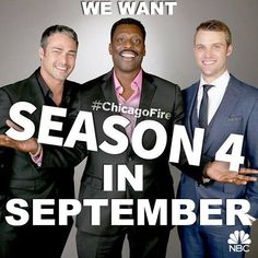 We want Season 4 in September!