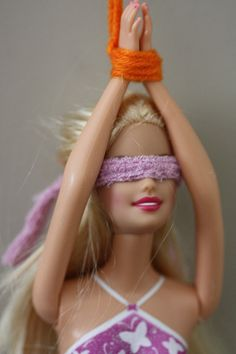 Naughty Barbie.