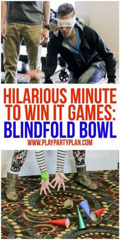 10 of the funniest minute to win it games ever! These are perfect for kids, for teens, for adults, or even at family reunion. These would be so funny to play with my work team or at my son's next birthday party! I can't wait to try Birthday Games For Adults, Christmas Games For Adults, Adult Party Games, Birthday Party For Teens, Christmas Party Games, Birthday Party Games, Teen Birthday, Funny Birthday, 70th Birthday
