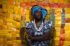 Image result for Serge Attukwei Clottey