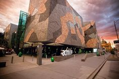 Australian Centre for the Moving Image - 7 Places That You Cannot Miss in Melbourne, Australia Melbourne Trip, Melbourne Australia, 7 Places, Places To Visit, Melbourne Victoria, Live Events, National Museum, Amazing Architecture, Where To Go