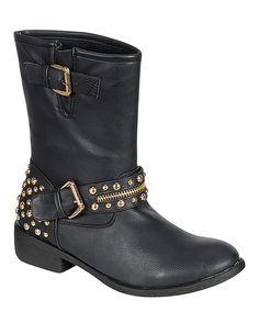 Black Burten Boot