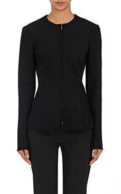 We Adore: The Stanna Bouclé Zip-Front Jacket from The Row at Barneys New York