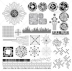Realistic Graphic DOWNLOAD (.ai, .psd) :: http://jquery-css.de/pinterest-itmid-1005474366i.html ... Design Elements ...  abstract, black, chip, circle, circuit, collection, design, diagram, electronics, futuristic, illustration, isolated, modern, motherboard, pattern, round, scale, set, shape, tech, technology, vector, wire  ... Realistic Photo Graphic Print Obejct Business Web Elements Illustration Design Templates ... DOWNLOAD :: http://jquery-css.de/pinterest-itmid-1005474366i.html