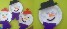 Snowmen - Kids Christmas Craft from Daisies & Pie