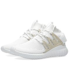 Taking the next step with its modern running aesthetic, adidas' Tubular Nova sees clean design meet functionality and style. The progressive model breaks with convention, mixing a '90s runner through adaptive and highly breathable Primeknit uppers and perforated sudede overlays. The EVA midsole and Tubular midsole add unbeatable cushioning with each and every step.  Primeknit Uppers Adaptive & Breathable Perforated Overlays EVA Midsole Tubular Midsole Rubber Outsole Style Code: S80106