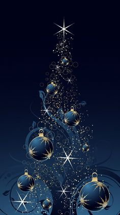 Most up-to-date Pic Christmas Wallpaper blue Style While Holiday ways, on the li… - Weihnachten Christmas Tree Wallpaper Iphone, Christmas Tree Background, Holiday Wallpaper, Christmas Scenes, Noel Christmas, Christmas Pictures, Christmas Colors, Christmas Balls, Wallpaper Natal