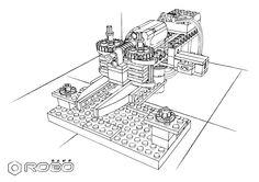 Manipulator LEGO WeDo, from CityCAMP WeDo set of exercises