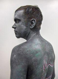 My only experiment with body painting so far. Makeup & photo: Marja Perälä, model: Joni