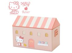 Hello Kitty x Rosier Genuine Leather Luxury Jewelry Box Jewelry Case Pink SANRIO JAPAN Online Shop / Online Store - 01
