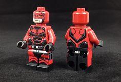 Demon Vigilante Custom Minifigure