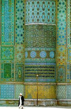 Islamic Patterns - 7 Repins - Garden of Allah - I think these patterns and colores would make a beautiful modern quilt.  So pretty.