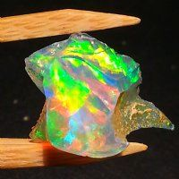 Ethiopian Rough Opal #42 - Another pretty little rough piece of Welo Opal