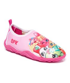 This Pink Shopkins™ Water Shoe is perfect! #zulilyfinds