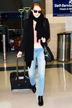 How to Copy Emma Stone's Accessible Style via @WhoWhatWear