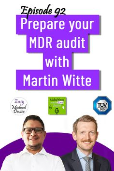 Monir El Azzouzi and Martin Witte #medicaldevicepodcast #medicaldevice #medicaldevices #regulatoryaffairs #easymedicaldevice #regulatorycompliance #compliance #meddevice #iso13485 #eumdr2017745 #eumdr #mdr2017745 #ivdr #ivdr2017746 #notifiedbody #qualitymanagement #qualitymanagementsystem #regulation #regulations #qualitysystem #medtech #podcast #podcasting #podcaster #podcastinterview #podcastshow Regulatory Affairs, Regulatory Compliance, Consulting Firms, Online Courses, Helping People, Knowledge, Told You So, Management