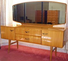Meredew #canadian light maple bedroom #suite. circa #1960's,  View more on the LINK: http://www.zeppy.io/product/gb/2/262616988062/
