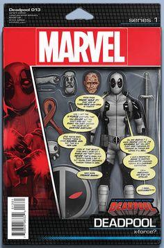 Deadpool no calla ni siendo figura de acción #Marvel #Cómic #Masacre