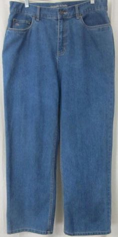 Christopher & Banks Jeans Size 14 Short 33x28 1/2 Free Shipping #ChristopherBanks #Relaxed