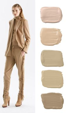 Ralph Lauren Paint celebrates the chic shades of camel in Ralph Lauren's Pre-Fall 2015 collection