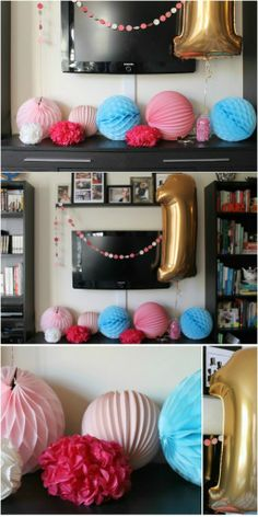 First Birthday Party Decor