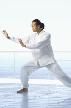 The Chinese practice of tai chi is a branch of Qigong -- exercises that harness the qi (life energy). Tai chi has been linked to numerous health benefits, including improvements in the quality of life of breast cancer patients and Parkinsons sufferers. Qi Gong, Tai Chi Chuan, Tai Chi Qigong, Pilates, Pranayama, Ayurveda, Aikido, Benefits Of Tai Chi, Yoga