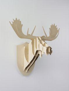 BIG-GAME (Suisse/Belgique/France)  Grégoire Jeanmonod + Elric Petit + Augustin Scott de Martinville  Moose, 2005 | Réalisé à l'ECAL/Ecole cantonale d'art de Lausanne | #design