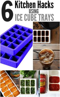 6 Unexpected Ways to Use Ice Cube Trays