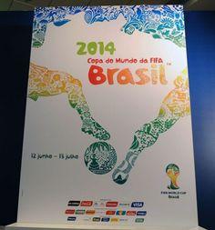 Pôster oficial da Copa do Mundo.    fonte: FIFA