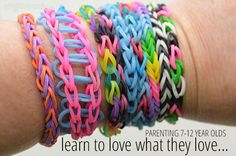 Learn to Love What They Love - good advice for parenting 7-12 year olds.