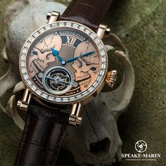 Reflections on time... www.speake-marin.com