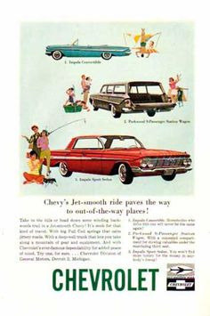 Chevrolet Car – Impala Sport – Sold (1961)