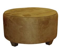 Clybourn Round Tufted Cocktail Ottoman by Skyline Furniture in Saddle Microsuede -- Learn more by visiting the image link.Note:It is affiliate link to Amazon.