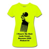"""Fanzyflaminfro Natural Hair GOD-Dess Real Talk Specialty Tees  Your hair and what you wear can speak volumes; so why not let your FANZYFLAMINFRO  T-Shirt do all the talking for you!!!!  """"What you won't say your T-Shirt will!""""  http://fanzyflaminfro.spreadshirt.com/  Fanzyflaminfro Natural Hair GOD-Dess Real Talk Specialty Tees #naturalhair #tshirts"""