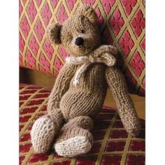 Classic Teddy Bear Knitting Pattern