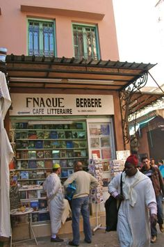 Librairie à Marrakech, Maroc www.liberatingdivineconsciousness.com