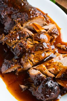 Melt in your mouth tender port tenderloin in a honey and parmesan glaze that is just packed with flavour! Slow Cooker Parmesan and Honey Pork Tenderloin - Slow Cooker Parmesan and Honey Pork Tenderloin Slow Cooker Pork Tenderloin, Pork Tenderloin Recipes, Pork Recipes, Slow Cooker Recipes, Cooking Recipes, Crockpot Meals, Healthy Recipes, Parmesan, Comfort Food