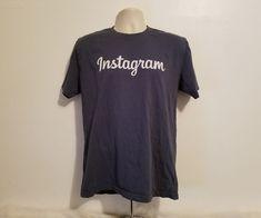 Instagram Social Media Adult Large Gray T-Shirt #GoldenGoods #BasicTee